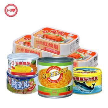 台糖 特選滿意罐頭15罐組(鮪魚、鯖魚、鰻魚、鳳梨片、玉米粒各三罐)