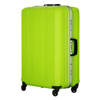 日本 LEGEND WALKER 6022-64-26吋 鋁框超輕量行李箱 蘋果綠