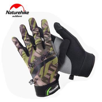 【Naturehike】時尚戶外防水透氣超薄手套/觸控手套 (叢林綠)