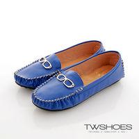 ~TW Shoes~眼鏡 金屬扣飾豆豆鞋 ^#40 K120A2175 ^#41