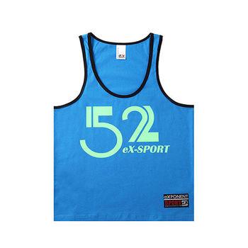 eXPONENT 無畏之愛 52 純棉背心(海洋藍) 126K0329