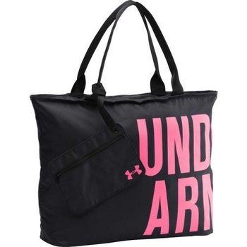 Under Armour 2016男時尚大文字商標黑粉色手提袋(預購)