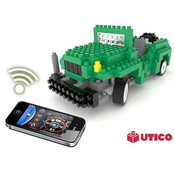 賽先生科學工廠|UTICO 藍芽遙控積木車