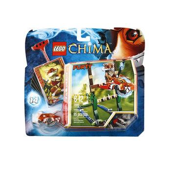【LEGO 樂高積木】Chima 神獸傳奇系列 - 沼澤跳躍 LT 70111