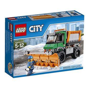 【LEGO樂高積木】City 城市系列 - 城市鏟雪卡車 LT 60083
