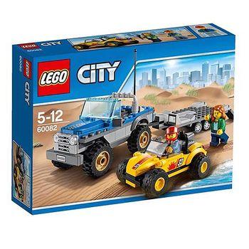 【LEGO樂高積木】City 城市系列 - 城市沙灘吉普小拖車 LT 60082