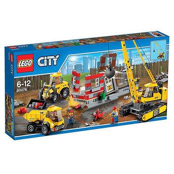 【LEGO樂高積木】City 城市系列 - 爆破現場 LT 60076