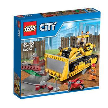 【LEGO樂高積木】City 城市系列 - 推土機 LT 60074
