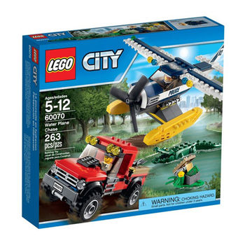 【LEGO 樂高積木】City 城市系列 - 水上飛機追擊 LT 60070