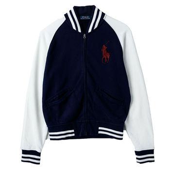 Ralph Lauren 男士休閒外套經典款 藍白(S-XL)