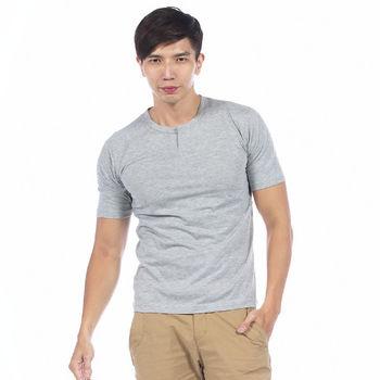 【滑雪家SKISPORTS】酷男排汗透氣高精梳純棉T恤-TM101-06灰色M