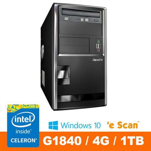 Genuine 捷元 GP888-4-1P G1840雙核 Win10Pro 桌上型電腦