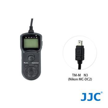 JJC TM-M 液晶定時快門線 N3(Nikon MC-DC2)