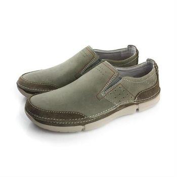 Clarks Trikeyon Step 休閒鞋 墨綠 男款 no745