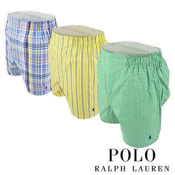 《Polo》Polo Ralph Lauren 經典馬球純棉平口褲-3入組(P4D)