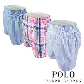 《Polo》Polo Ralph Lauren 經典馬球純棉平口褲-3入組(P6D)