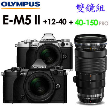 [32G全配]OLYMPUS OM-D E-M5 Mark II 12-40+40-150 F2.8 PRO (公司貨)