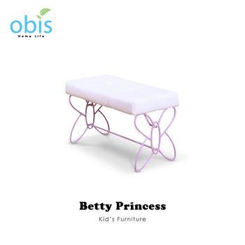 【obis】Kids Neverland 兒童床前椅-貝蒂公主