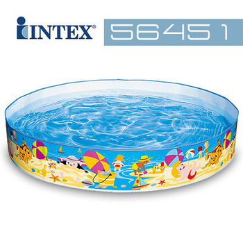 【INTEX】海濱假日免充氣水池 56451