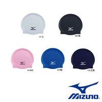 ~Mizuno 美津濃~ Mizuno 高彈性矽膠泳帽 N2MW405300 ^#40 5