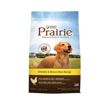 【Prairie大草原】紐西蘭鮮雞肉糙米全犬配方(4.5磅)