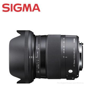 SIGMA 17-70mm F2.8-4 DC Macro OS HSM II (公司貨)