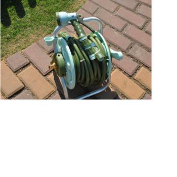 [協貿國際]20米手提式水管車 清洗高壓水槍收納器澆花洗車工具一組價