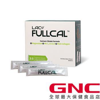 【GNC健安喜】Full-Cal™優鎂鈣 60 包 (檸檬酸鈣+鎂)
