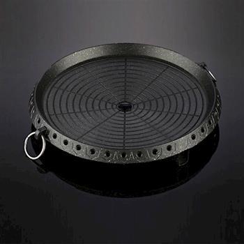 韓式燒烤盤 『圓形』16-00019  烤肉 韓製 野炊 露營│戶外│中秋烤肉