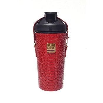 韓國Purenine升級款-河智苑代言智能轉鹼水瓶-紅色皮套720ml