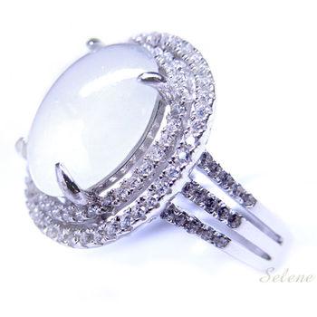 【Selene珠寶】冰種翡翠戒指(A貨翡翠)