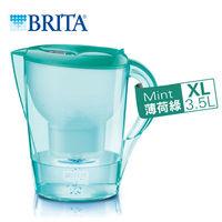 ~德國BRITA~ 3.5L馬利拉花漾濾水壺~ 一支濾芯~.薄荷綠