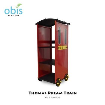 【obis】Kids Neverland 兒童三層置物架-湯瑪士小火車