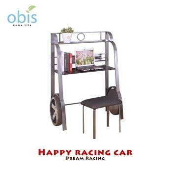 【obis】Kids Neverland 兒童書桌椅組-閃電賽車