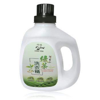 【綺緣-無患子】阿里山綠茶香氛淨白洗衣精3件體驗組