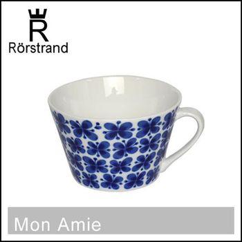 瑞典皇室御用 RORSTRAND (Mon Amie四葉蝴蝶幸運草系列) 咖啡杯/紅茶杯/湯杯 500ml