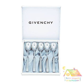 GIVENCHY 不鏽鋼餐具禮盒組 小湯匙 5件組