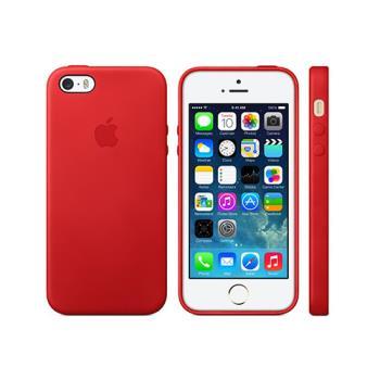 Apple 原廠 iPhone SE/5/5S case 適用 皮革保護套(盒裝)