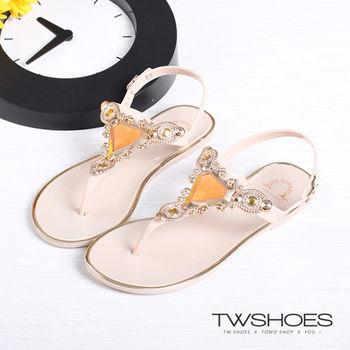 【TW Shoes】波西米亞風人字夾腳涼鞋【K132AF4012】