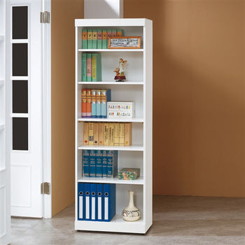 【時尚屋】[5U6]白色2X6尺開放書櫃5U6-204-274