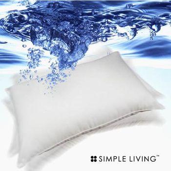 SIMPLE LIVING 系列 機洗水絨枕(陽光型防蟎抗菌)-1入