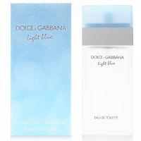 DG DolceGabbana 淺藍 LIGHT BLUE 女性淡香水 50ml 贈 針管