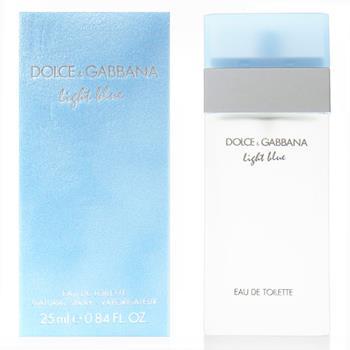 DG DolceGabbana 淺藍 LIGHT BLUE 女性淡香水 25ml 贈隨機針管香水1份