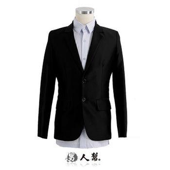【男人幫】全新視點啟示錄光澤斜紋雙扣西裝外套(C5316)