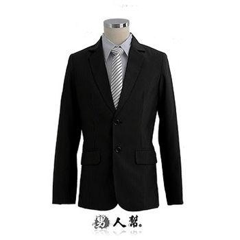 【男人幫】日系極緻夢幻條紋西裝外套(C5303)