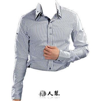 【男人幫】上班族萬搭款.品味時尚專屬型男雅痞長袖襯衫(S0191)