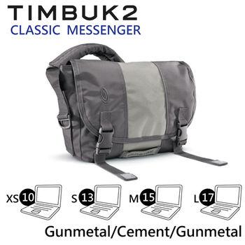 【美國Timbuk2】Classic Messenger 經典郵差包-Gunmetal/Cement-XS