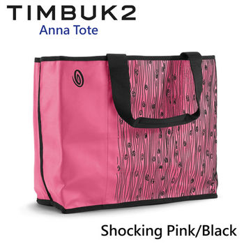 【美國Timbuk2】Anna Tote 托特包-Shocking Pink/Black-M