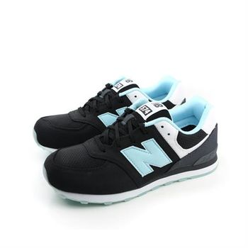 New Balance 574系列 跑鞋 黑 大童 no051