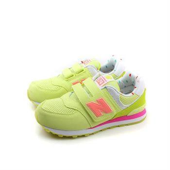 New Balance 574系列 跑鞋 黃 童 no049